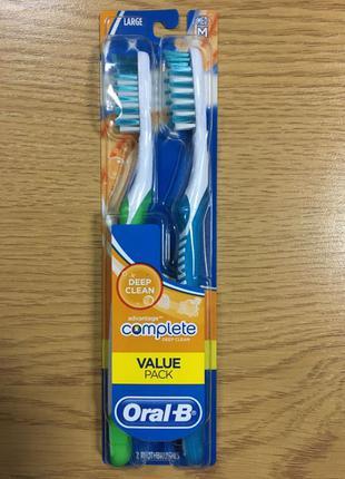 Oral-B compete зубные щетки