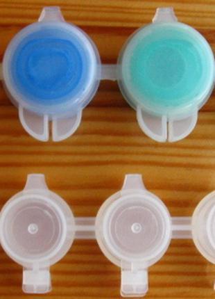 Для рисования краска акрил в баночках, набор 6 шт.