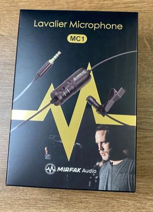 Микрофон петличный Mirfak Audio MC1 Lavalier