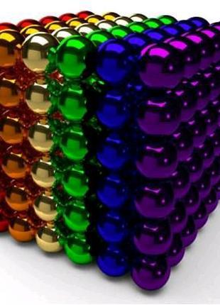 Магнитная игрушка Неокуб головоломка NBZ Neocube 216 шариков 5 мм
