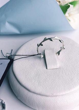 Кольцо серебро 925  на фалангу веточка имп 10000
