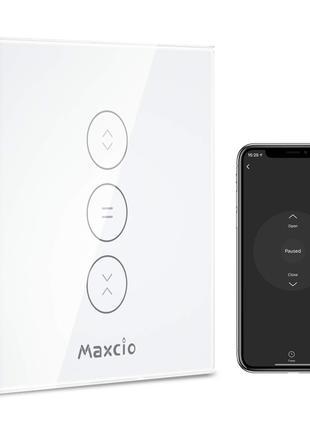 Умный выключатель WI-FI MAXCIO для штор Alexa, Google Assistant