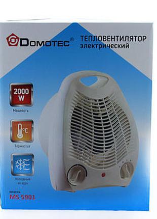 Тепловентилятор Domotec MS-5901, Обогреватель
