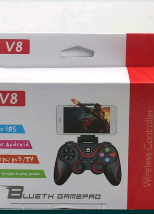 Беспроводной джойстик для телефона игровой геймпад V8-3020 Mega