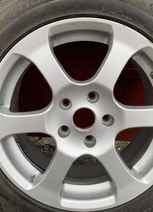 Продам диски R17 5*120 із зимовими шинами Opel Insignia