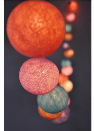Гирлянда интерьерная из шаров/декор квартиры/ украшение детско...