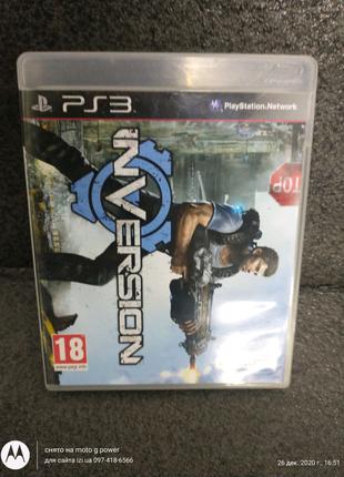 Игра диск Inversion для ps3