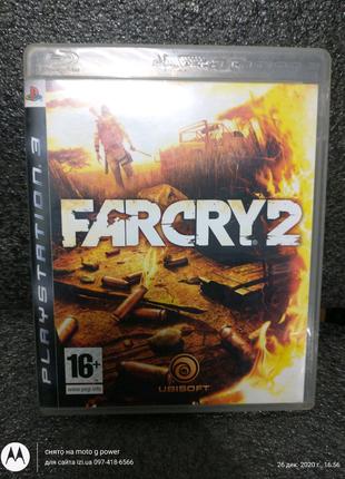 Игра диск Farcry 2 для ps3