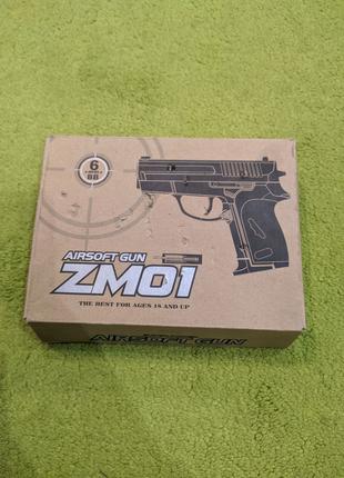 Игрушечный пистолет ZM 01