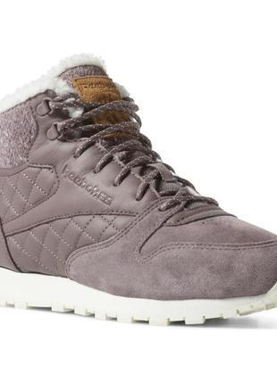 Женские зимние ботинки  reebok classic leather arctic boot  cn...