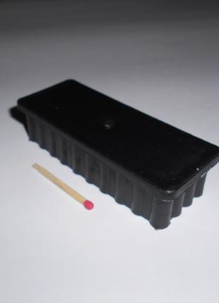 Заглушка для трубы 40х100 пластиковая