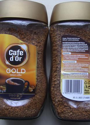 Кофе растворимый Cafe d'Or Gold 200 гр. Польша