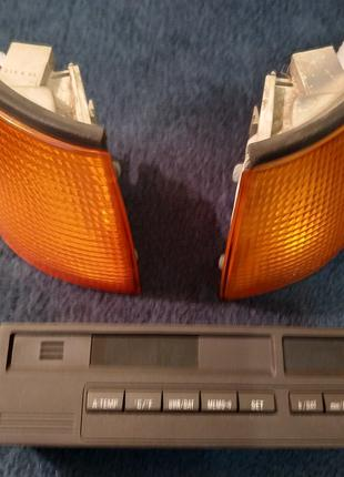 Поворотные плафоны и бортовой компьютер  оригинал БМВ Е36 купе.