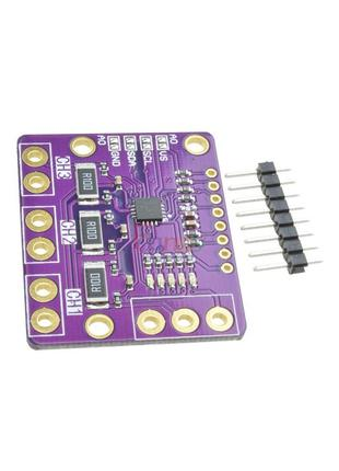 INA3221 — трехканальный модуль измерения силы тока и напряжения