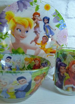 Набор детской посуды для девочек