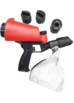 Пескоструйный пистолет со встроенной емкостью для песка 1л и 4...