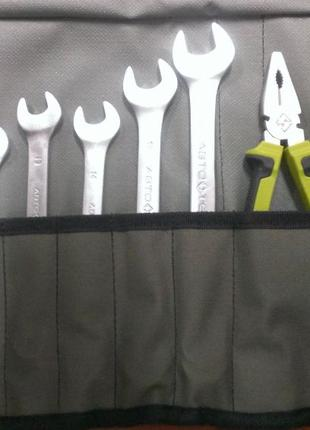 Набор инструментов 12 предметов Автотехника 106012