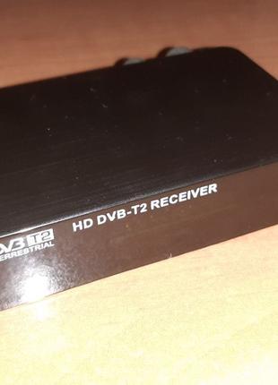Мини ТВ-тюнер DVB-T2 FullHD 1080P HDMI + термопленка на пульт