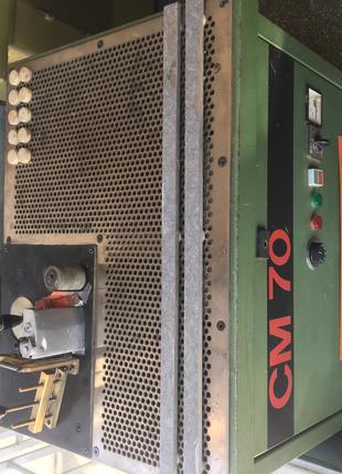 обвязочный станок с загнутыми кромками