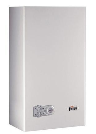 Котел ferroli domiproject f24 газовий клапан бачок манометр