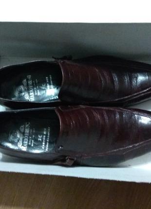 Мужские туфли MARIO BRUNI 43 р.(Italy)