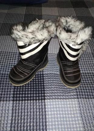 Зимние дутики, сноубутсы детские брис босфор