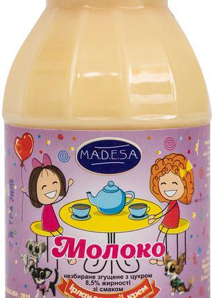 Молоко цельное сгущенное, 8,5%,со вккусом ИРЛАНДСКИЙ КРЕМ,экспорт