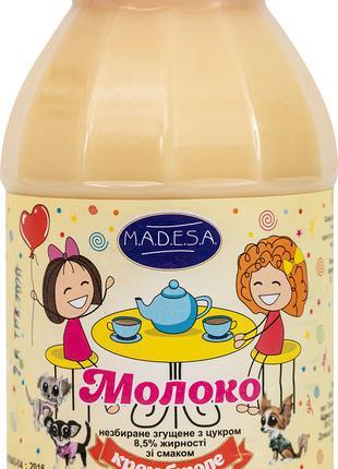 Молоко цельное сгущенное, 8,5%,со вккусом КРЕМ-БРЮЛЕ ,экспорт