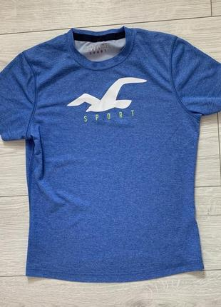 Футболка спортивна синя, спортивная футболка.