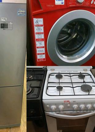 Пральна машина*Холодильник*Кухонна плита.Європа.Склад-магазин