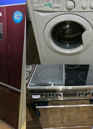 Кухонна плита*Холодильник*Пральна машина.Європа.Склад-магазин.