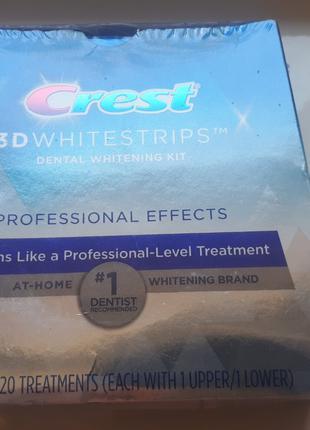 Crest 3D White Professional Effects - отбеливающие полоски из США