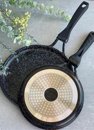 Супер сковорода!! сковорода для блинов a-plus 20 см с гранитны...