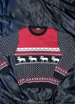 Рождественский новогодний свитер. Свитер на Рождество.