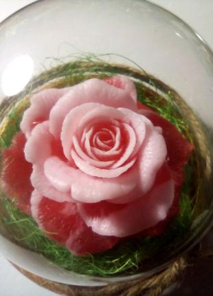 """Мило ручної роботи """"Ніжна троянда"""""""