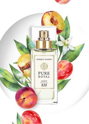 FM 820 Pure Royal Жіночі парфуми. Аромат Paco Rabanne Pure XS For