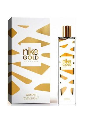 Туалетная вода nike gold edition woman (испания)