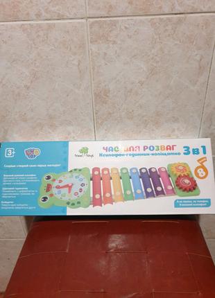 Ксилофон деревянная игрушка