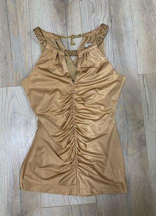 Топ блуза золотой cache S