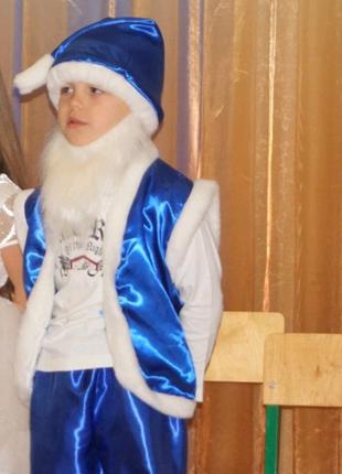 Карнавальный костюм гномика для мальчика от 3 до 7 лет. В хорошем