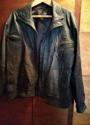 Куртка шкіряна чоловіча