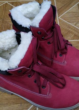 Ботинки  Timberlаnd натуральный нубук