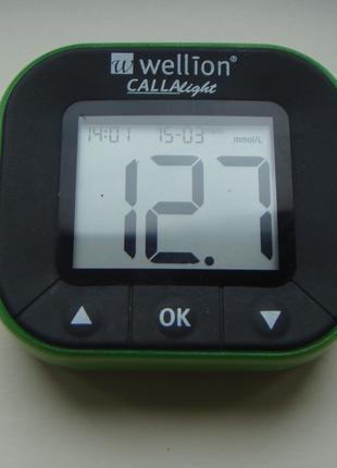 Глюкометр + авторучка для взятия крови