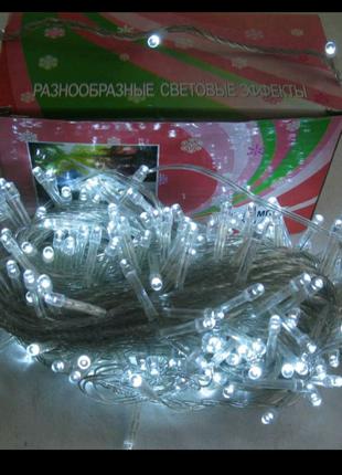 Гирлянда 200 LED , разные цвета .