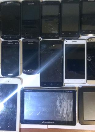 Смартфоны и мобильные на детали,ремонт все одним лотом
