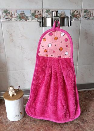 Кухонная салфетка-полотенце микрофибра супервпитывающее