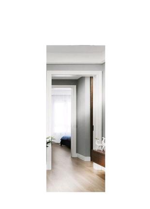 Зеркало узкое лист без рамы на стену напольное полный рост 165 х