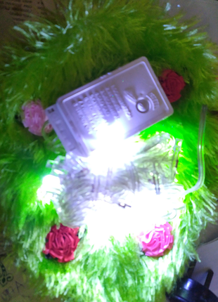 Новогодняя ёлочная гирлянда на 40 LED светодиодных лампочек