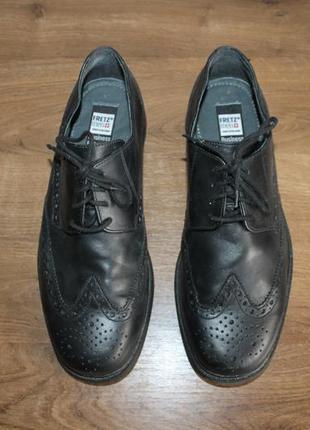 Кожаные туфли fretzmen, 42 размер