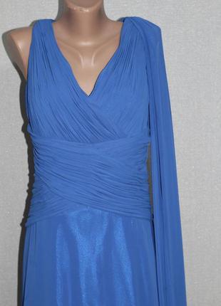 Нарядное платье со шлейфом très chic, выпускное, свадебное, то...